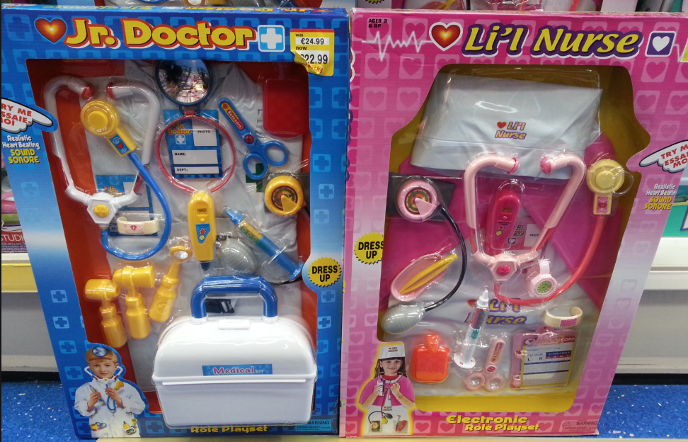 Toys subtle messages: girls aren't as smart, girls are bad at math