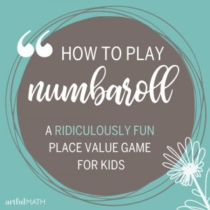 Numbaroll place value game