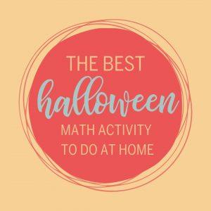 Halloween Math Activity blog post